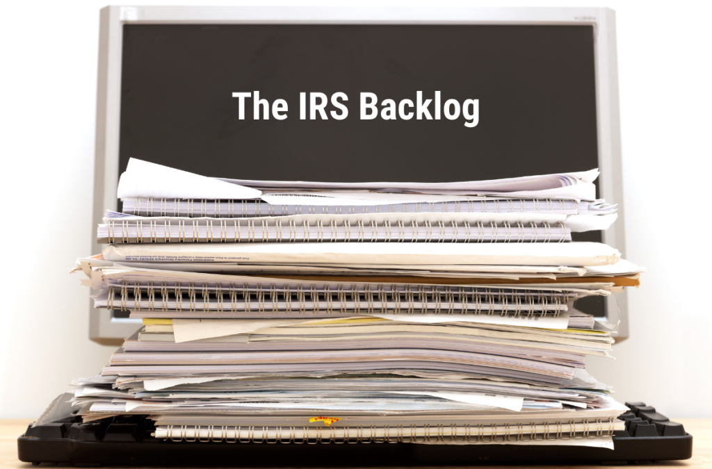 IRS Contends with an Unopened Mail Backlog of Unprocessed Tax Returns and Payments
